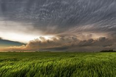 Thunderstorm in Paul's Valley, Oklahoma.  Landscape photography by Matt Granz.