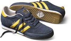 adidas Skateboard Silas SLR: Navy/Yellow