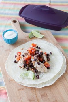#Epicure Silicone Steamer 10 Minute Salsa Chicken (170 calories/serving)