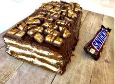 Chałwowiec bez pieczenia - Blog z apetytem Chocolates, Food And Drink, Cooking Recipes, Vegetarian, Sweets, Baking, Blog, Cakes, Impreza
