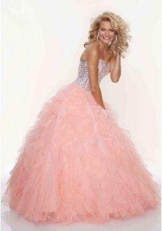 5dfc4f3aa7a luxusní lososové plesové šaty na maturitní ples Viola XS-M