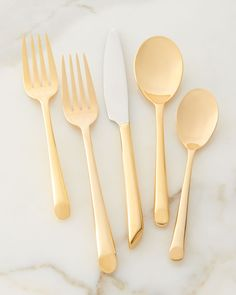 Towle Silversmiths 20-Piece Living Wave Flatware Service