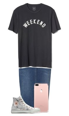 """#mahkaylah"" by miagracerobinson ❤ liked on Polyvore featuring M&S, Gap and Converse"