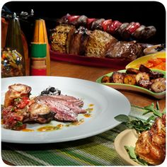 Enjoy All You Can Eat Brazilian Steakhouse Cuisine From The Rodizio Style Dining Experience At Samba In Mirage Las Vegas