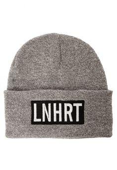 Lionheart - LNHRT Grey - Long Beanie im Impericon Shop - Innerhalb von 24…