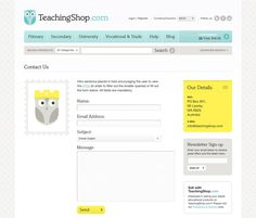 Teaching Shop by Hype & Slippers , via Behance