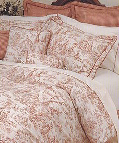 Toile Red Comforter Set | Overstock.com Shopping - Great Deals on Comforter Sets