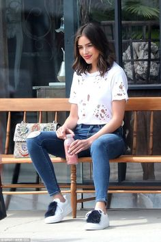 Healthy living: Olivia Culpo stepped out on Saturday to pick up a juice in Brentwood, California
