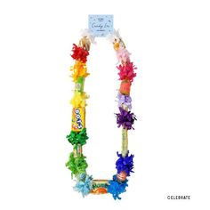 Bon Voyage Party, Wholesale Candy, Top Candy, Candy Necklaces, Rainbow Candy, Happy Birthday Parties, Birthday Celebrations, Graduation Gifts, Candy Graduation Leis