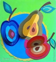Apple craft idea for kids Summer Crafts, Fall Crafts, Diy And Crafts, Arts And Crafts, Projects For Kids, Diy For Kids, Crafts For Kids, Fruit Crafts, Apple Crafts