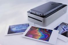 SnapJet Prints your mobile photos on instant film