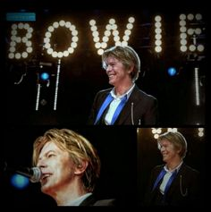 David Bowie, 2002.