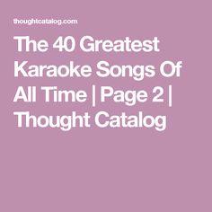 Good karaoke songs for altos