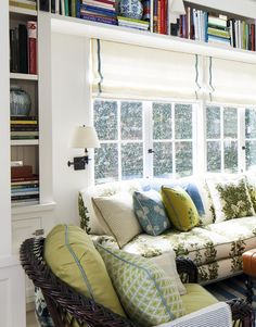 Designing Our Family Room | Bookshelf Inspiration - %