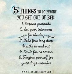 Before You Get Out of Bed http://www.yogaweightloss.net/best-yoga-position/