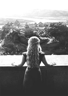 gif Black and White game of thrones daenerys targaryen Khaleesi