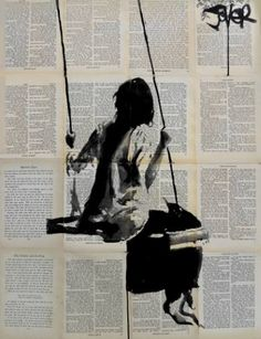 "Saatchi Art Artist Loui Jover; Drawing, ""years & years"""