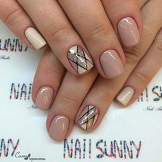 50 Winter Acrylics Short Nail Designs To Try This Season These trendy Nails ideas would gain you amazing compliments. Check out our gallery for more ideas these are trendy this year. Stylish Nails, Trendy Nails, Short Nail Designs, Nail Art Designs, Nails Design, Hair And Nails, My Nails, Nagellack Design, Luxury Nails