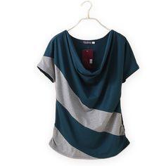 sports shoes caf79 bb59f Summer camisetas de mujeres 2015 moda de manga corta floja camisetas para  mujer corto manga camiseta