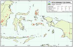 Pantauan Titik Panas Indonesia bagian Timur