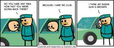 Police - Speeding and guns