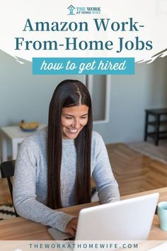 Amazon work from home jobs. Check out these tips on how to get hired and start working from home today. | The Work At Home Wife
