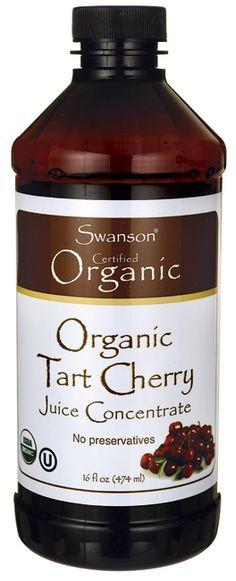 Swanson Organic Organic Tart Cherry Juice Concentrate 16 fl oz (474 ml) Liquid