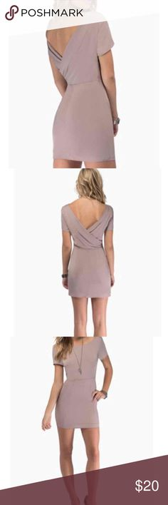Tobi sexy low back dress It's super cute like new ! Bought and never wore if Tobi Dresses