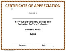 Letter of appreciation to colleague appreciation letter sample teacher appreciation sample letter 30 free certificate of appreciation templates and letters spiritdancerdesigns Images