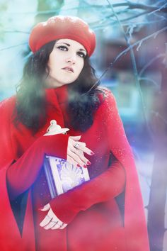 Фотография Winter Fairy Tale автор Elvira Zakharova на 500px #fairy #red #red cardinal #tale #winter