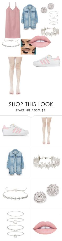 """Untitled #252"" by top-notch912 ❤ liked on Polyvore featuring adidas, Leg Avenue, LE3NO, Miss Selfridge, Kate Spade, Accessorize and L.A. Girl"