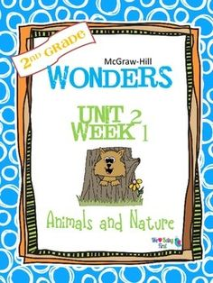 If you are already using or you are new to the Wonders Reading Program, this 55 page packet is for you. You'll have help with weekly lesson planning, printables for centers or word work activities, anchor charts, writing activities, high frequency word practice, an abundance of spelling activities, and much, much more.Check the table of contents below and the preview to see exactly what is included in the packet.
