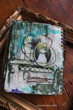 Art Journal - Vintage lady