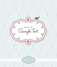 Cute Frame Clip Art   Cute vector frames – set of 13 nice and cute vector frames for your ...