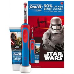 Oral-B Stages Power Kids Electric Toothbrush Featuring Star Wars Characters, Gift Pack Including Toothpaste Teeth Health, Oral Health, Kids Electric Toothbrush, Timer App, Oral B Braun, How To Prevent Cavities, Best Teeth Whitening, Teeth Care, Medical Prescription