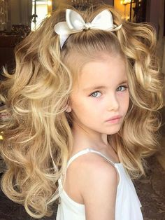 30 Best Curly Hairstyles For Kids Brookes Hair Pinterest