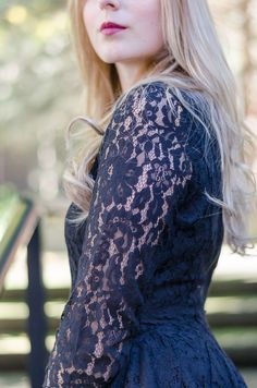 lace H&M dress #dress #dateoutfit