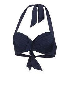 Damen Bikini Oberteil Soft Cup Halter
