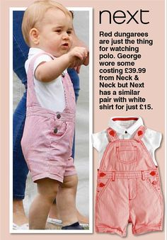 How Prince George's outfits have been hijacked by the high street  | Daily Mail Online