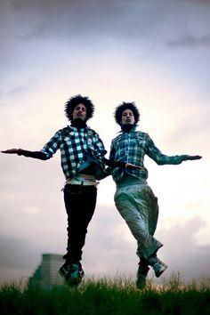 Les Twins/Beyoncé dancers