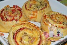 Não sei se o formato que fiz está mais para Bauru ou pizza enrolada, alterei...