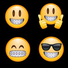 Emoji smiles. #DeltaDental #Braces