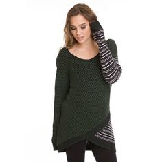 Shawn Tunic Green Combo, by Steve Oo, now featured on Fab.