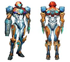 Samus PED Suit Design