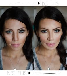 Don't be caught with bad contouring! She tells you what the most common fixes and mistakes are. AWESOME!