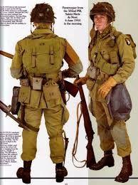 Resultado de imagen de us paratroopers ww2 uniform