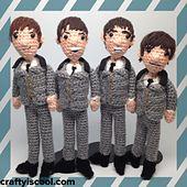 Ravelry: The Beatles Amigurumi Patterns pattern by Allison Hoffman