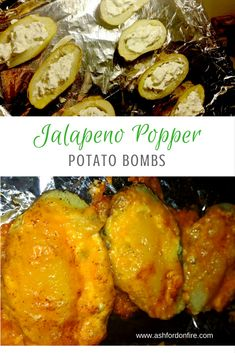Jalapeno Popper Potato Bombs {www.ashfordonfire.com}