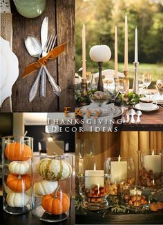 pinterest decorating ideas | ... Decor Ideas cover New Pinterest Board: Thanksgiving Decor Ideas