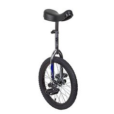 Unicycles - Sun 18 Inch Classic ChromeBlack Unicycle * To view further for this item, visit the image link.